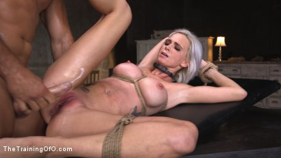 Photo number 18 from Sex Slave Astrid Star Submits to Rope Bondage and Extreme Fucking! shot for The Training Of O on Kink.com. Featuring Ramon Nomar and Astrid Star in hardcore BDSM & Fetish porn.
