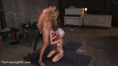 Photo number 4 from Sex Slave Astrid Star Submits to Rope Bondage and Extreme Fucking! shot for The Training Of O on Kink.com. Featuring Ramon Nomar and Astrid Star in hardcore BDSM & Fetish porn.
