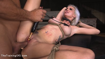 Sex Slave Astrid Star Submits to Rope Bondage and Extreme Fucking!