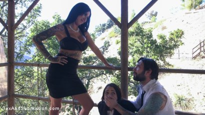 Photo number 2 from Mob Rules shot for Sex And Submission on Kink.com. Featuring Tommy Pistol, Avi Love  and Lily Lane in hardcore BDSM & Fetish porn.
