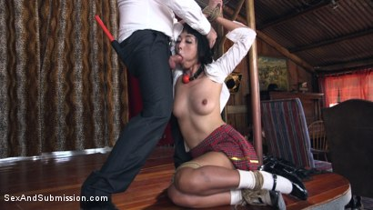 Photo number 4 from The Wrong Girl shot for Sex And Submission on Kink.com. Featuring Tommy Pistol and Marica Hase in hardcore BDSM & Fetish porn.