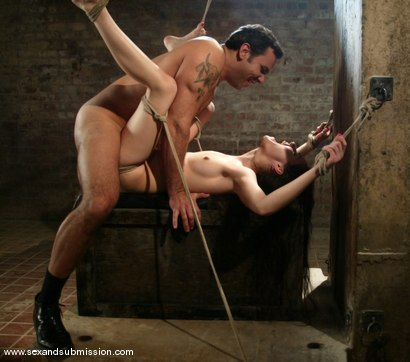 Photo number 13 from The Journalist - Sasha Grey's First Bondage Movie shot for Sex And Submission on Kink.com. Featuring Sasha Grey and Steven St. Croix in hardcore BDSM & Fetish porn.