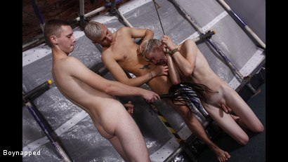 Photo number 16 from Boys Need Their Dicks Sucked shot for Boynapped on Kink.com. Featuring Luca Finn, Aiden Jason and Deacon Hunter in hardcore BDSM & Fetish porn.