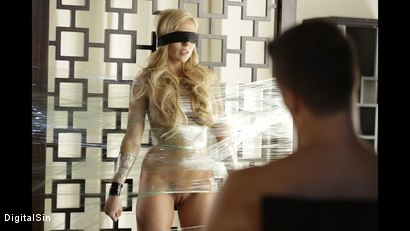 Photo number 18 from Christie Is Kept Wrapped For Freshness shot for Digital Sin on Kink.com. Featuring Christie Stevens and Ramon Nomar in hardcore BDSM & Fetish porn.