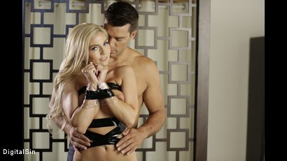 Photo number 4 from Christie Is Kept Wrapped For Freshness shot for Digital Sin on Kink.com. Featuring Christie Stevens and Ramon Nomar in hardcore BDSM & Fetish porn.