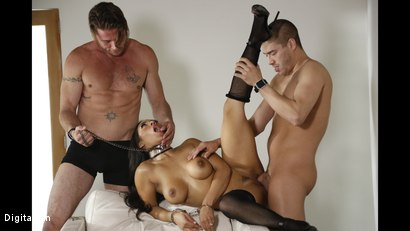Photo number 13 from Sharing His Wife Priya With His Best Friend shot for Digital Sin on Kink.com. Featuring Xander Corvus, Priya Price and Levi Steele in hardcore BDSM & Fetish porn.