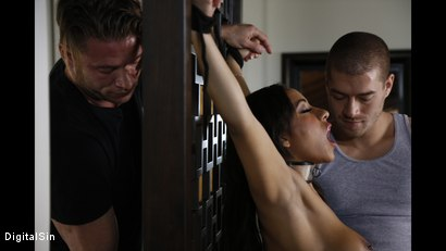 Photo number 7 from Sharing His Wife Priya With His Best Friend shot for Digital Sin on Kink.com. Featuring Xander Corvus, Priya Price and Levi Steele in hardcore BDSM & Fetish porn.