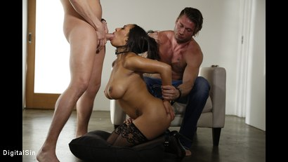 Photo number 9 from Sharing His Wife Priya With His Best Friend shot for Digital Sin on Kink.com. Featuring Xander Corvus, Priya Price and Levi Steele in hardcore BDSM & Fetish porn.