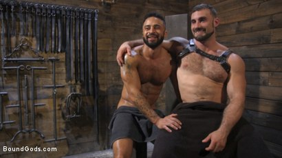 Photo number 30 from Built and Bullied in Bondage  shot for Bound Gods on Kink.com. Featuring Jaxton Wheeler and Damian Taylor in hardcore BDSM & Fetish porn.