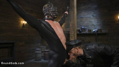 Photo number 6 from Ace Era: Butt-Fucked Beaten and Bound shot for Bound Gods on Kink.com. Featuring Sebastian Keys and Ace Era in hardcore BDSM & Fetish porn.