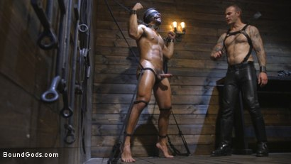 Photo number 7 from Submissive Seth Santoro Suffers For Christian Wilde shot for Bound Gods on Kink.com. Featuring Christian Wilde and Seth Santoro in hardcore BDSM & Fetish porn.