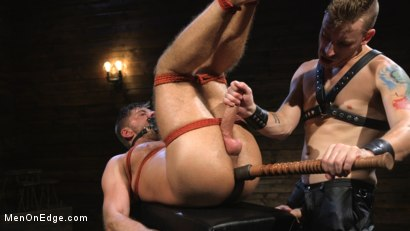 Photo number 13 from Submissive Stud Jack Andy Bound in Rope and Fucked in the Ass!! shot for Men On Edge on Kink.com. Featuring Jack Andy in hardcore BDSM & Fetish porn.