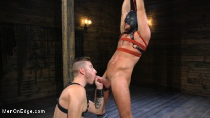 Photo number 5 from Submissive Stud Jack Andy Bound in Rope and Fucked in the Ass!! shot for Men On Edge on Kink.com. Featuring Jack Andy in hardcore BDSM & Fetish porn.