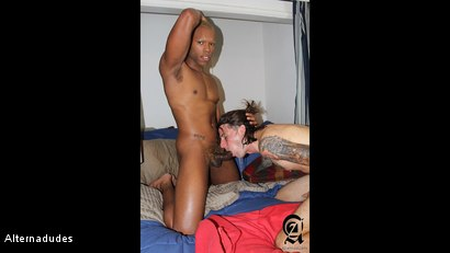 Photo number 5 from Deepthroating a BBC shot for Alternadudes on Kink.com. Featuring Timarrie Baker and Christop in hardcore BDSM & Fetish porn.