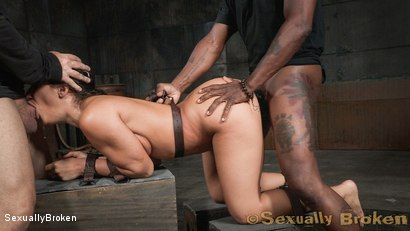 Photo number 2 from Destruction by dick from both ends for Abella Danger. shot for Sexually Broken on Kink.com. Featuring Abella Danger, Matt Williams and Jack Hammer in hardcore BDSM & Fetish porn.