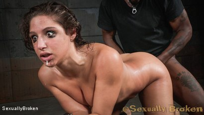 Photo number 8 from Destruction by dick from both ends for Abella Danger. shot for Sexually Broken on Kink.com. Featuring Abella Danger, Matt Williams and Jack Hammer in hardcore BDSM & Fetish porn.