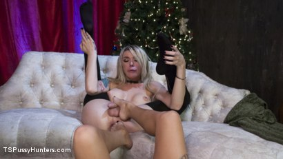 Photo number 11 from All Lily Lane wants for Christmas is a Nice Hard Cock shot for TS Pussy Hunters on Kink.com. Featuring Lily Lane and Aubrey Kate in hardcore BDSM & Fetish porn.