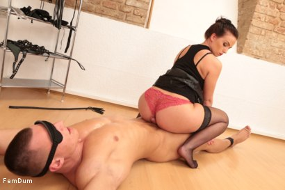 Photo number 19 from Thomas Can't Stand Up shot for FemDum on Kink.com. Featuring Eliza and Thomas in hardcore BDSM & Fetish porn.