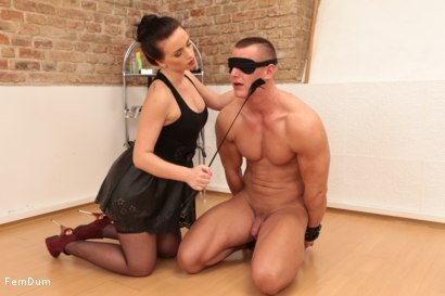 Photo number 5 from Thomas Can't Stand Up shot for FemDum on Kink.com. Featuring Eliza and Thomas in hardcore BDSM & Fetish porn.