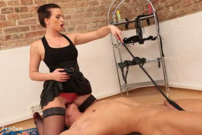 Photo number 9 from Thomas Can't Stand Up shot for FemDum on Kink.com. Featuring Eliza and Thomas in hardcore BDSM & Fetish porn.