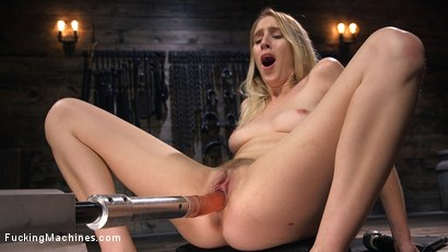 Photo number 10 from All Natural Blonde Babe Cadence Lux Squirts All Over Fucking Machines! shot for Fucking Machines on Kink.com. Featuring Cadence Lux in hardcore BDSM & Fetish porn.