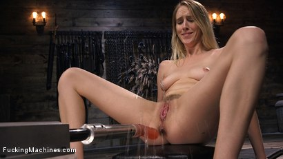 Photo number 11 from All Natural Blonde Babe Cadence Lux Squirts All Over Fucking Machines! shot for Fucking Machines on Kink.com. Featuring Cadence Lux in hardcore BDSM & Fetish porn.