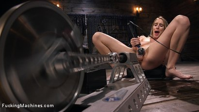 Photo number 12 from All Natural Blonde Babe Cadence Lux Squirts All Over Fucking Machines! shot for Fucking Machines on Kink.com. Featuring Cadence Lux in hardcore BDSM & Fetish porn.