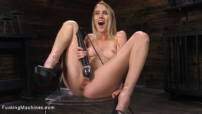 Photo number 13 from All Natural Blonde Babe Cadence Lux Squirts All Over Fucking Machines! shot for Fucking Machines on Kink.com. Featuring Cadence Lux in hardcore BDSM & Fetish porn.