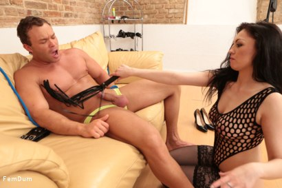 Photo number 26 from Young Mistress shot for FemDum on Kink.com. Featuring Fiona and Peter Stallion in hardcore BDSM & Fetish porn.