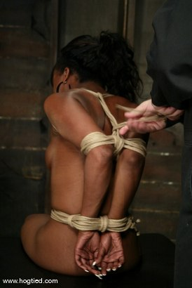 Photo number 4 from Stacey Cash shot for Hogtied on Kink.com. Featuring Stacey Cash in hardcore BDSM & Fetish porn.