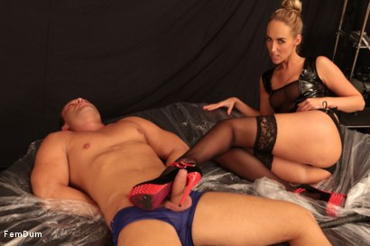 Photo number 11 from Leather And Submission shot for FemDum on Kink.com. Featuring Jenny Simons and Peter Stallion in hardcore BDSM & Fetish porn.
