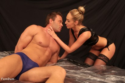 Photo number 5 from Leather And Submission shot for FemDum on Kink.com. Featuring Jenny Simons and Peter Stallion in hardcore BDSM & Fetish porn.