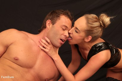 Photo number 6 from Leather And Submission shot for FemDum on Kink.com. Featuring Jenny Simons and Peter Stallion in hardcore BDSM & Fetish porn.