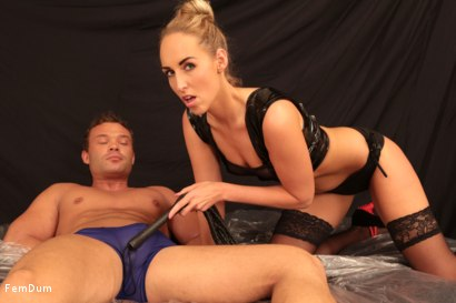 Photo number 7 from Leather And Submission shot for FemDum on Kink.com. Featuring Jenny Simons and Peter Stallion in hardcore BDSM & Fetish porn.