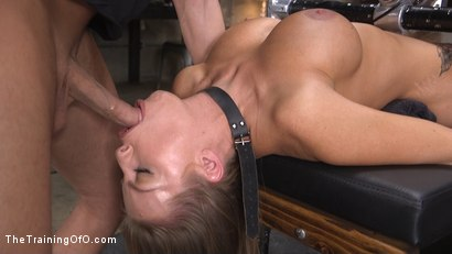 Photo number 1 from Britney Amber's Intense Whore Endurance Training shot for The Training Of O on Kink.com. Featuring Britney Amber and Seth Gamble in hardcore BDSM & Fetish porn.