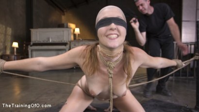 Photo number 3 from The Supremely Subservient, Ella Nova  shot for The Training Of O on Kink.com. Featuring Charles Dera and Ella Nova in hardcore BDSM & Fetish porn.