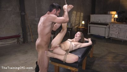 Photo number 24 from The Supremely Subservient, Ella Nova  shot for The Training Of O on Kink.com. Featuring Charles Dera and Ella Nova in hardcore BDSM & Fetish porn.