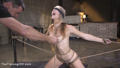 Photo number 4 from The Supremely Subservient, Ella Nova  shot for The Training Of O on Kink.com. Featuring Charles Dera and Ella Nova in hardcore BDSM & Fetish porn.