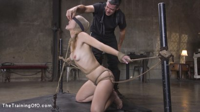 Photo number 6 from The Supremely Subservient, Ella Nova  shot for The Training Of O on Kink.com. Featuring Charles Dera and Ella Nova in hardcore BDSM & Fetish porn.