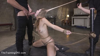 Photo number 10 from The Supremely Subservient, Ella Nova  shot for The Training Of O on Kink.com. Featuring Charles Dera and Ella Nova in hardcore BDSM & Fetish porn.