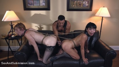 Photo number 14 from The Perfect Gift shot for Sex And Submission on Kink.com. Featuring Marica Hase, Lauren Phillips and Ramon Nomar in hardcore BDSM & Fetish porn.