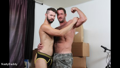 Photo number 7 from SnowBalling shot for Nasty Daddy on Kink.com. Featuring Anthony London and Conrad Logun in hardcore BDSM & Fetish porn.