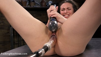 Photo number 7 from All Natural Sex Kitten Casey Calvert takes on Anal Fucking Machines! shot for Fucking Machines on Kink.com. Featuring Casey Calvert in hardcore BDSM & Fetish porn.