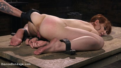 Photo number 10 from Petite Slave Alexa Nova Locked in Metal Bondage and Tormented Orgasms shot for Device Bondage on Kink.com. Featuring Alexa Nova and The Pope in hardcore BDSM & Fetish porn.