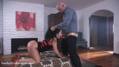 Photo number 4 from Anal Coercion shot for Sex And Submission on Kink.com. Featuring Kristina Rose and Derrick Pierce in hardcore BDSM & Fetish porn.