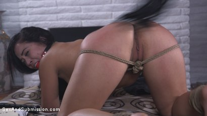Photo number 6 from Anal Coercion shot for Sex And Submission on Kink.com. Featuring Kristina Rose and Derrick Pierce in hardcore BDSM & Fetish porn.