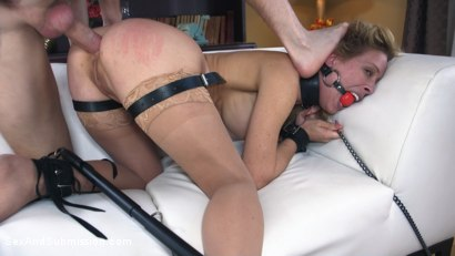 Photo number 9 from American Anal shot for Sex And Submission on Kink.com. Featuring Cherie DeVille and Markus Dupree in hardcore BDSM & Fetish porn.