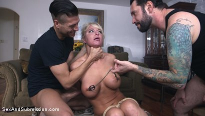 Photo number 5 from Heartbreaker shot for Sex And Submission on Kink.com. Featuring Tommy Pistol, Xander Corvus and London River in hardcore BDSM & Fetish porn.