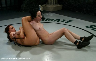 Photo number 12 from The Sadist(0-1) Ranked 8th<br>The Badger(2-2) Ranked 13th shot for Ultimate Surrender on Kink.com. Featuring Alexa Von Tess and Claire Adams in hardcore BDSM & Fetish porn.