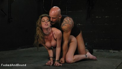 Photo number 12 from Kayla Paige is Horny and Latex Clad shot for Fucked and Bound on Kink.com. Featuring Derrick Pierce and Kayla Paige in hardcore BDSM & Fetish porn.